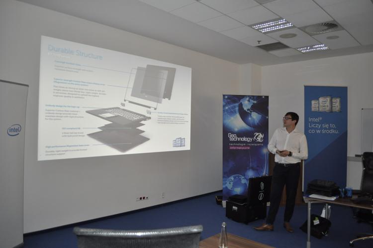 Połączenie Dell i EMC - spotkanie w fabryce Dell w Łodzi