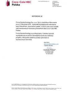 Geotechnology - listy referencyjne
