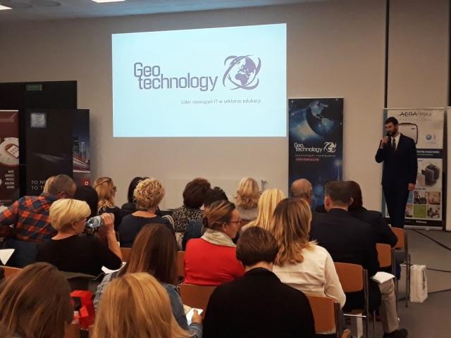 Geotechnology na IX Kongresie dla Dyrektorów Placówek Niepublicznych