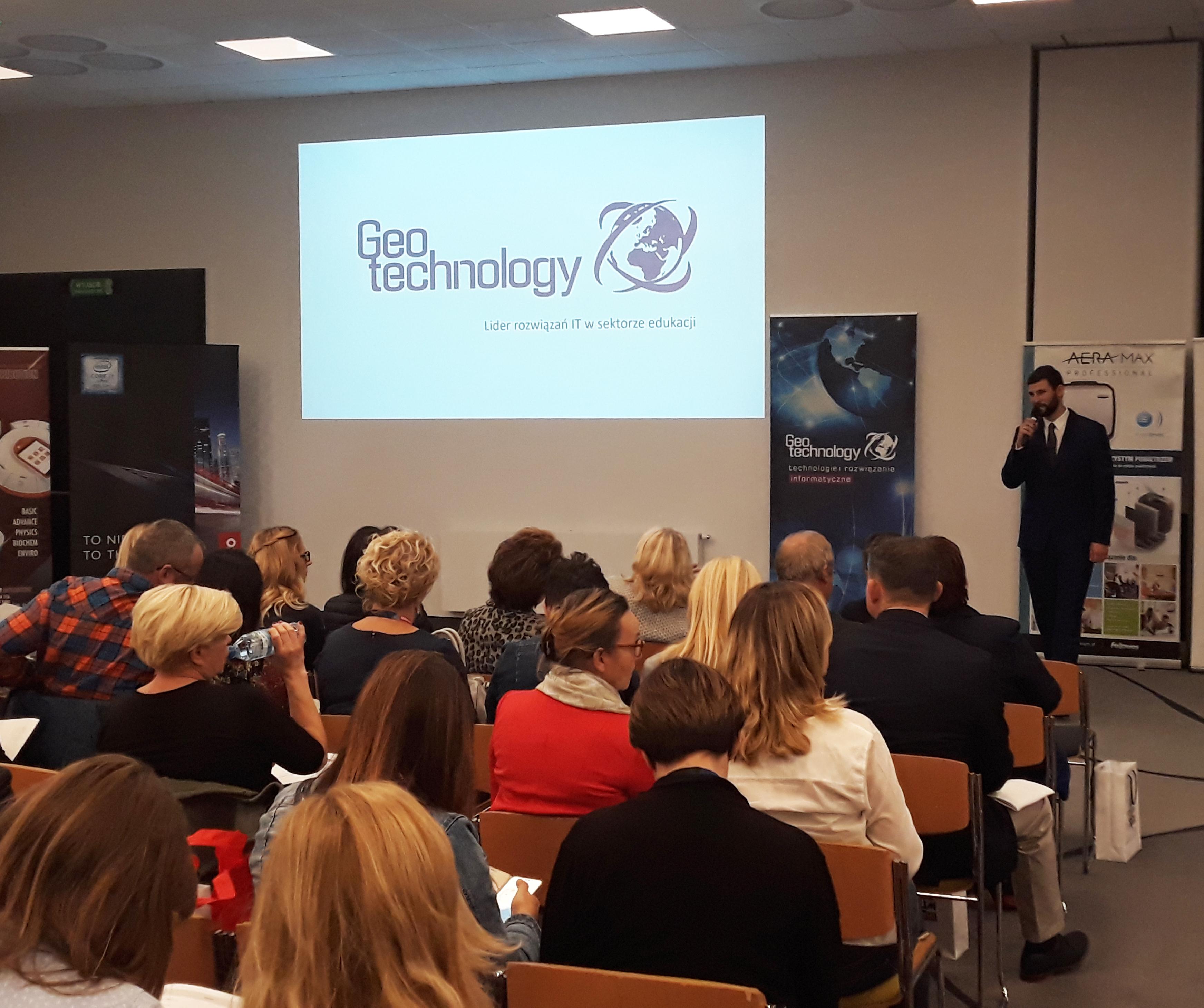 Geotechnology naIX Kongresie dla Dyrektorów Placówek Niepublicznych
